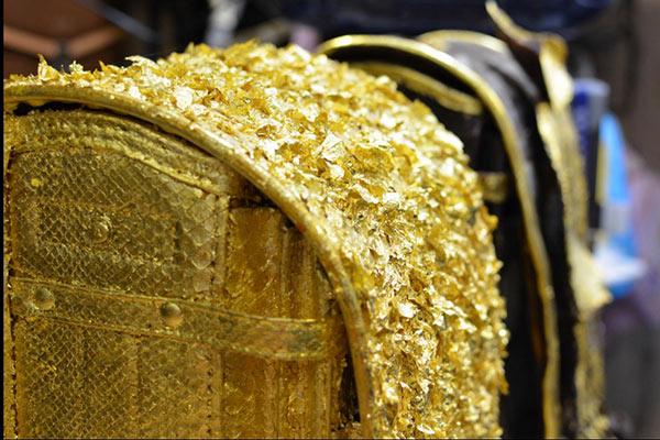 高級ランドセル|純金箔のランドセル