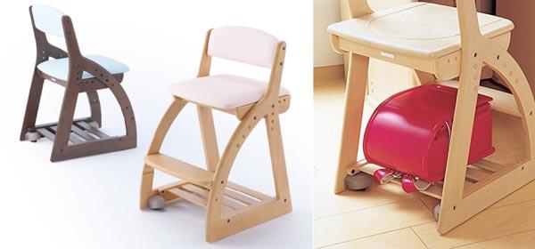 ランドセルの収納|椅子