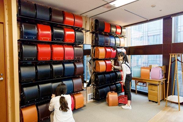 黒川鞄工房 ランドセルの店舗|銀座