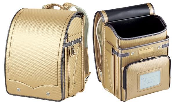 ゴールドのランドセル|萬勇鞄