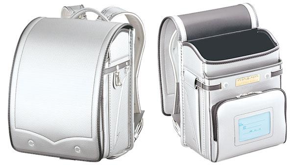 シルバーのランドセル|萬勇鞄